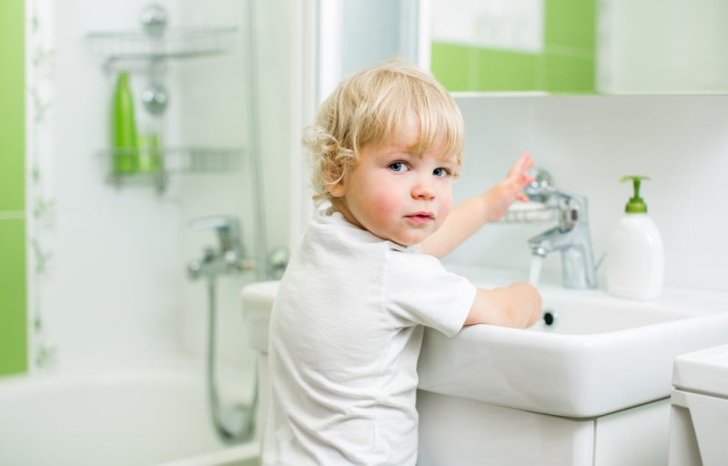 Barnanpassa ditt badrum
